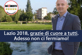 Lazio 2018, grazie di cuore a tutti. Adesso non ci fermiamo!